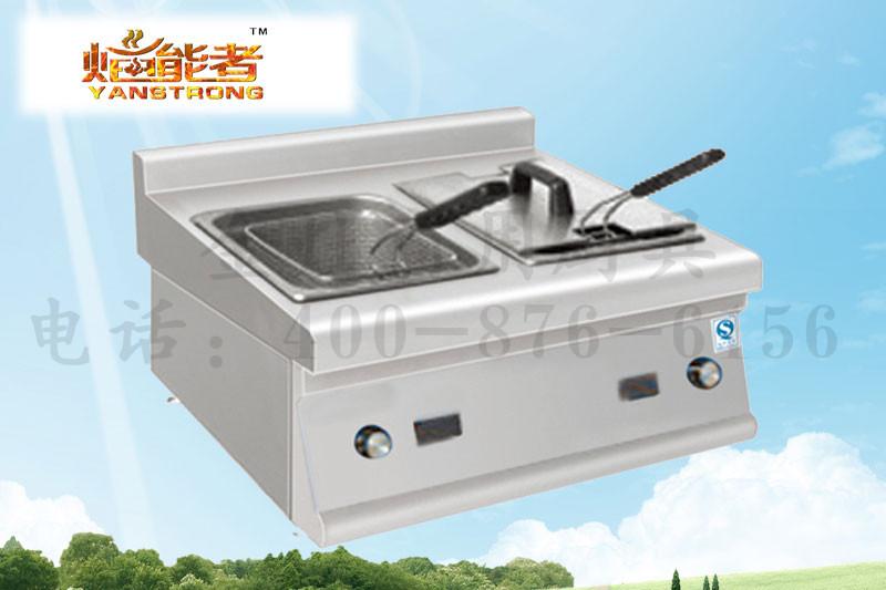 食堂专用双缸油炸炉