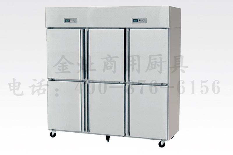 学院食堂专用六门冷柜