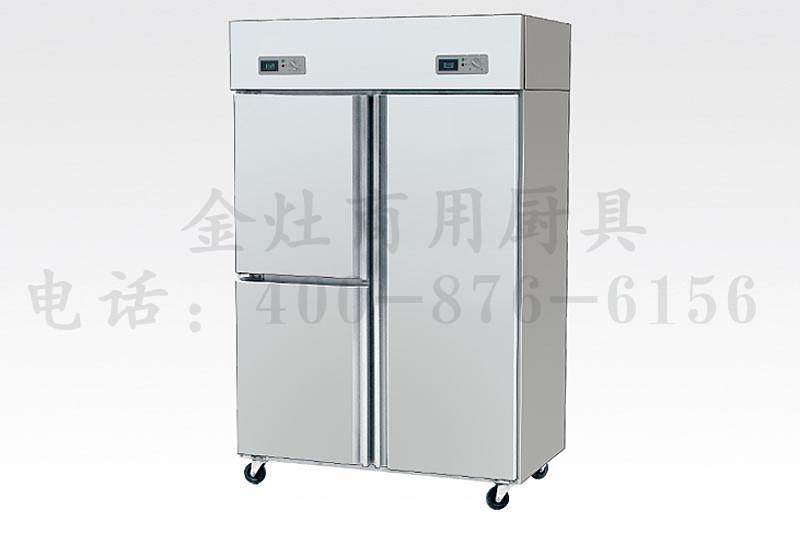 饭店专用三门冷柜