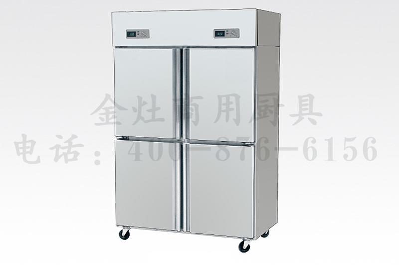 饭店专用四门冷柜