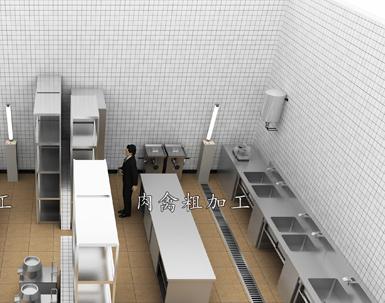 50-100平米餐厅设备