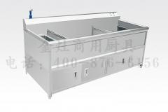 食堂双缸洗菜机